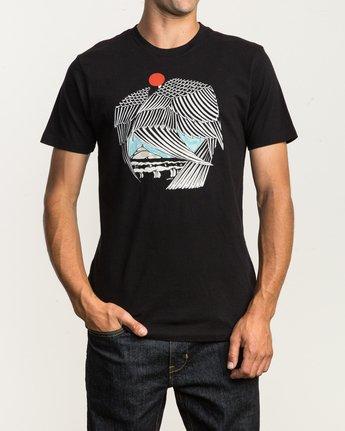 2 Alex Matus T-Shirt Black M430SRMA RVCA