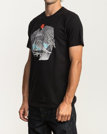 3 Alex Matus T-Shirt Black M430SRMA RVCA