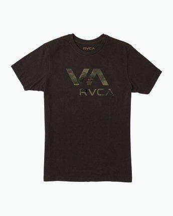 0 VA RVCA Fill T-Shirt Black M430SRVA RVCA