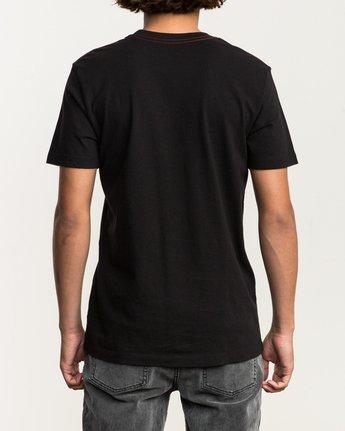 3 VA RVCA Fill T-Shirt Black M430SRVA RVCA