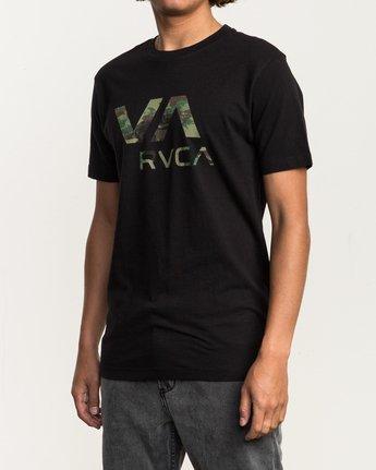 2 VA RVCA Fill T-Shirt Black M430SRVA RVCA