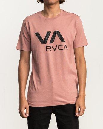 1 VA RVCA Fill T-Shirt Brown M430SRVA RVCA
