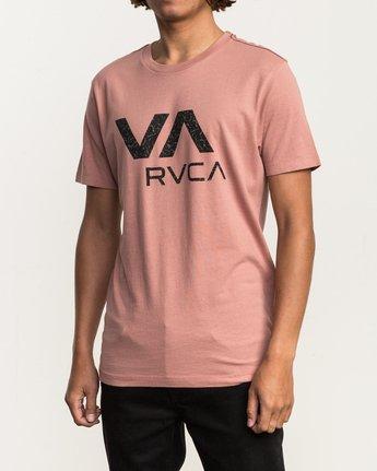 2 VA RVCA Fill T-Shirt Brown M430SRVA RVCA