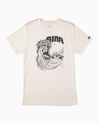 0 Alex Matus Aina T-Shirt White M430TRAS RVCA