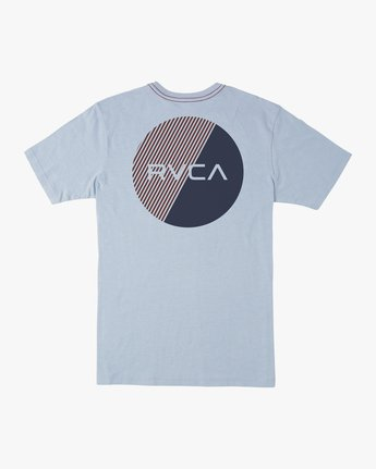 0 Blind Motors T-Shirt Blue M430TRBL RVCA
