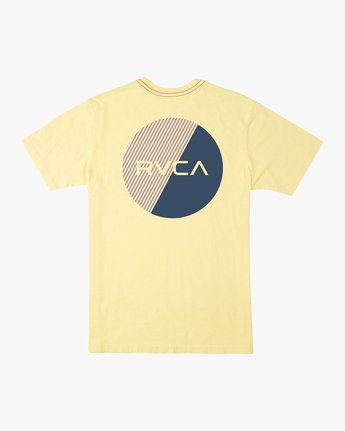 0 Blind Motors T-Shirt Yellow M430TRBL RVCA