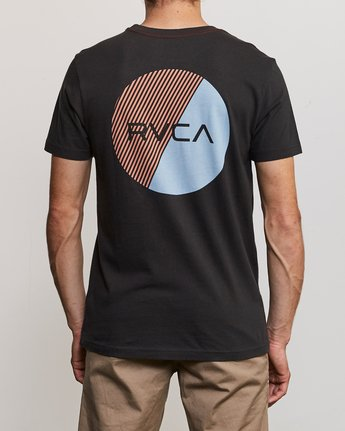 4 Blind Motors T-Shirt Black M430TRBL RVCA