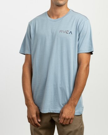 3 Blind Motors T-Shirt Blue M430TRBL RVCA