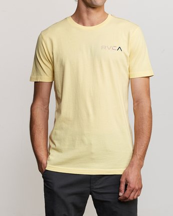 2 Blind Motors T-Shirt Yellow M430TRBL RVCA