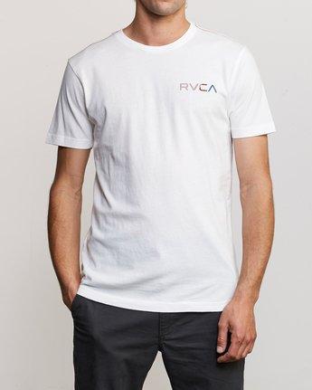 2 Blind Motors T-Shirt White M430TRBL RVCA