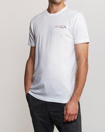 3 Blind Motors T-Shirt White M430TRBL RVCA
