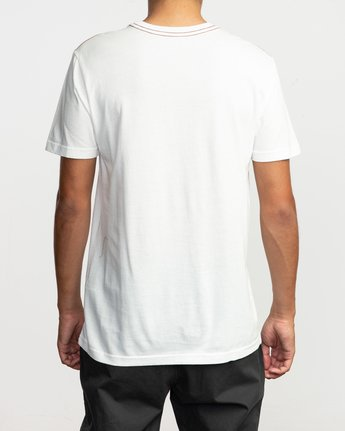 3 Islands Balance Box Fill T-Shirt White M430TRBS RVCA