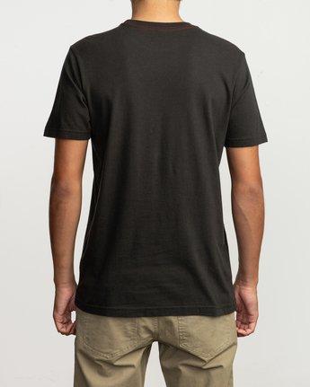 3 Islands Balance Box Fill T-Shirt Black M430TRBS RVCA