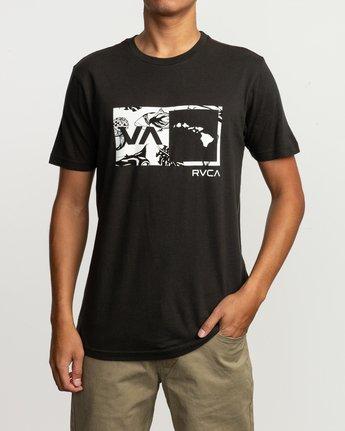 1 Islands Balance Box Fill T-Shirt Black M430TRBS RVCA