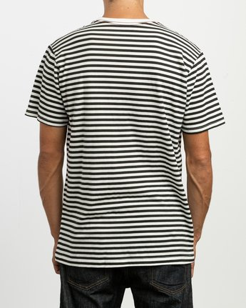 3 House Stripes T-Shirt  M430TRHO RVCA