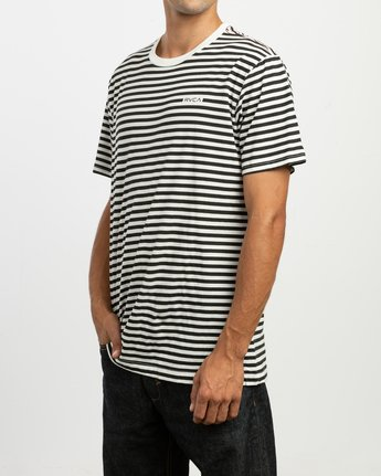 2 House Stripes T-Shirt  M430TRHO RVCA