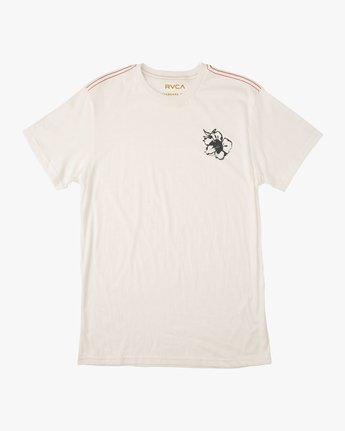 1 Sage Vaughn Mono Flower T-Shirt  M430TRMO RVCA