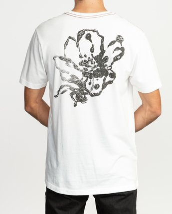 5 Sage Vaughn Mono Flower T-Shirt  M430TRMO RVCA