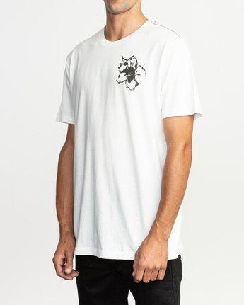 4 Sage Vaughn Mono Flower T-Shirt  M430TRMO RVCA
