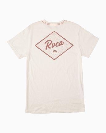 0 Postmark T-Shirt White M430TRPO RVCA