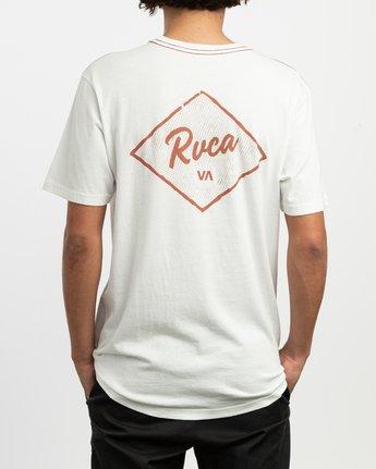 3 Postmark T-Shirt White M430TRPO RVCA
