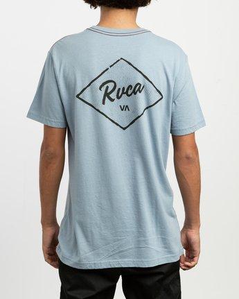 4 Postmark T-Shirt Blue M430TRPO RVCA