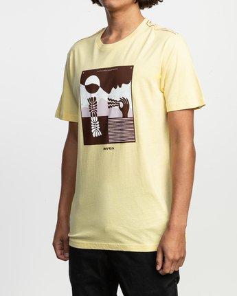 3 Zurich T-Shirt Yellow M430TRZU RVCA