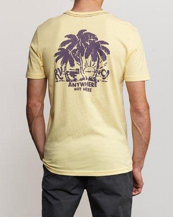 5 Alex Smith Anywhere T-Shirt Yellow M430URAN RVCA