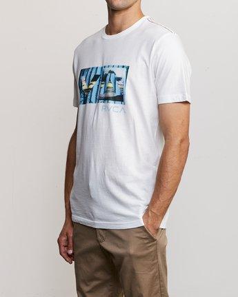 2 Balance T-Shirt White M430URBA RVCA