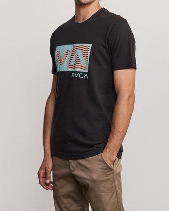 2 Balance T-Shirt Black M430URBA RVCA
