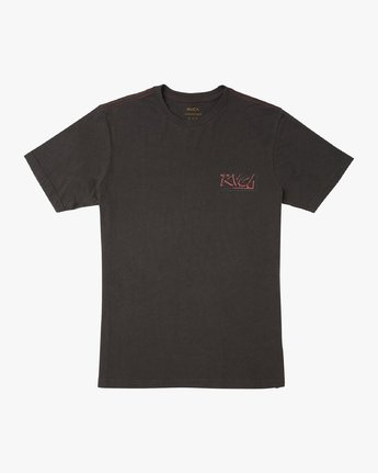 1 Offset T-Shirt Black M430UROF RVCA