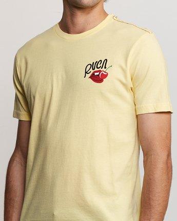 4 Joe Suzuki Tasty T-Shirt Yellow M430URTA RVCA