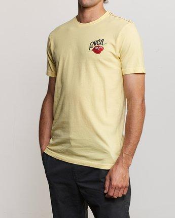 2 Joe Suzuki Tasty T-Shirt Yellow M430URTA RVCA