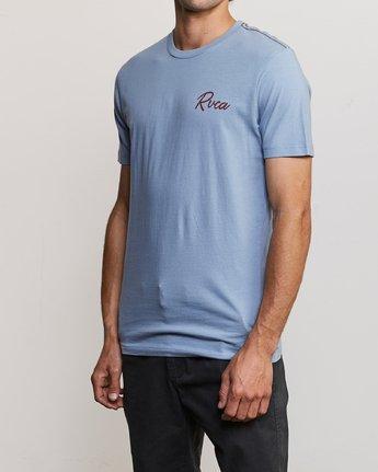 3 Mowgli Tropicale T-Shirt Blue M430URTR RVCA