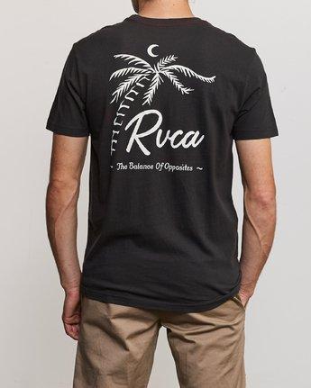 4 Mowgli Tropicale T-Shirt Black M430URTR RVCA