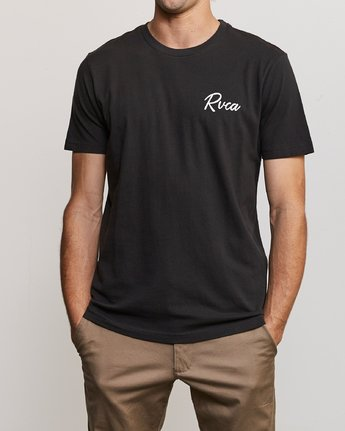 2 Mowgli Tropicale T-Shirt Black M430URTR RVCA