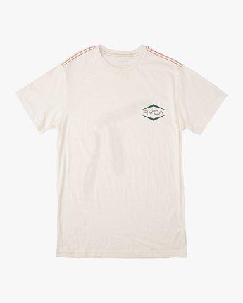 0 Astro Hex T-Shirt White M430VRAS RVCA