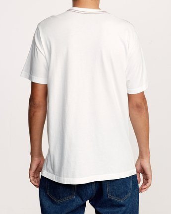 3 Astro Hex T-Shirt White M430VRAS RVCA