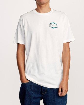 1 Astro Hex T-Shirt White M430VRAS RVCA