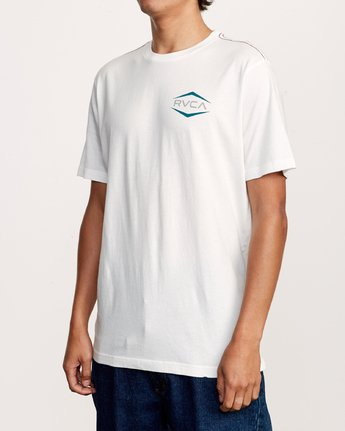 2 Astro Hex T-Shirt White M430VRAS RVCA
