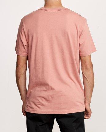3 Astro Hex T-Shirt Pink M430VRAS RVCA