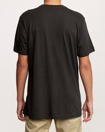 3 Astro Hex T-Shirt Black M430VRAS RVCA