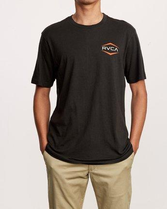 1 Astro Hex T-Shirt Black M430VRAS RVCA