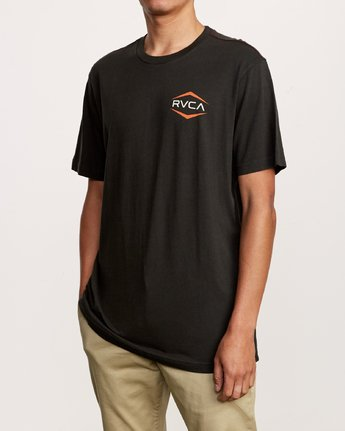 2 Astro Hex T-Shirt Black M430VRAS RVCA
