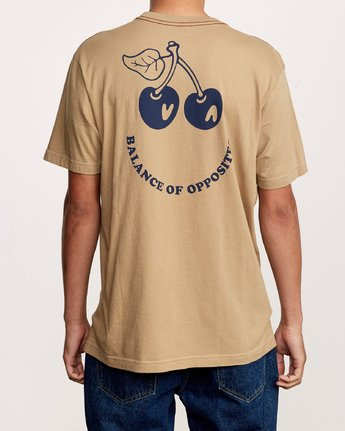 4 Bixby T-Shirt Yellow M430VRBI RVCA