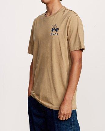 3 Bixby T-Shirt Yellow M430VRBI RVCA
