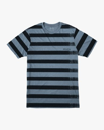 0 Copy Stripe T-Shirt Red M430VRCS RVCA
