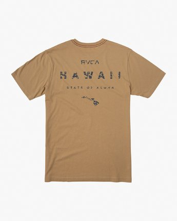 0 Da Aina T-Shirt Yellow M430VRDA RVCA