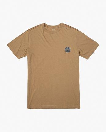 1 Da Aina T-Shirt Yellow M430VRDA RVCA