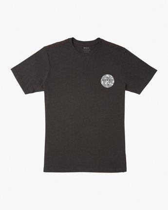 1 Da Aina T-Shirt Black M430VRDA RVCA